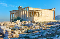 Ruins of the Erechtheion temple