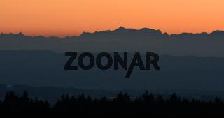 Sonnenaufgang mit Alpenpanorama