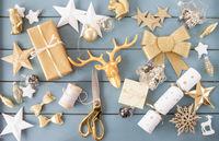 Festliche Dekoration zu Weihnachten