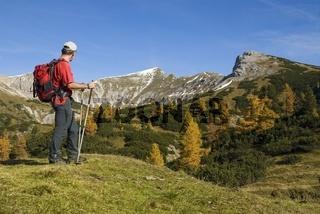 Herbst am Hochmölbling in der Steiermark, Österreich