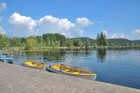 der Schwarzsee bei Kitzbuehel in Tirol,Oesterreich