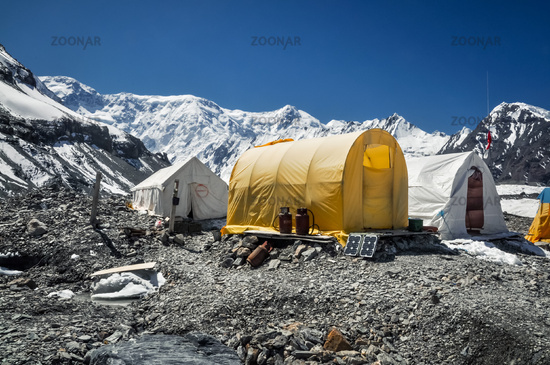 Tents in Kyrgystan