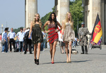 Germany's Next Topmodel Top 3 Photocall in Berlin