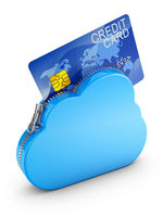 Cloud and credit card