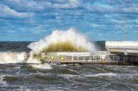 sturm an der Ostseeküste