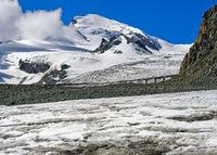 Gipfel Strahlhorn, Saas-Fee, Wallis, Schweiz