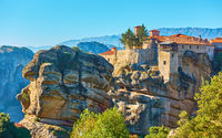 The Meteora in Greece