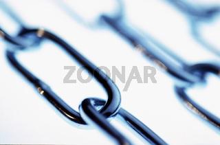 Still mit Kettengliedern, chains