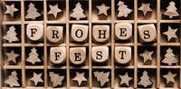 German words Merry Christmas