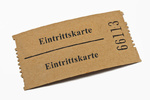 Eintrittskarte | entrance card