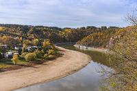 River Dyje in Czech Republic