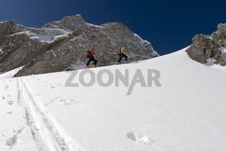 Skitour auf das Stadelfeld im Nationalpark Gesäuse