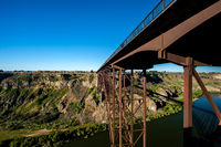 Snake River and Perrine Bridge near Twin Falls, Idaho