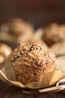 Oatmeal Banana Walnut Muffin