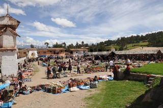 Indio Markt Chinchero Peru