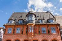 Kaiserworth in Golsar - historisches Gildehaus am Markt
