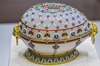 Renaissance Easter Egg, Shuvalovsky Palace, St. Petersburg, Russia