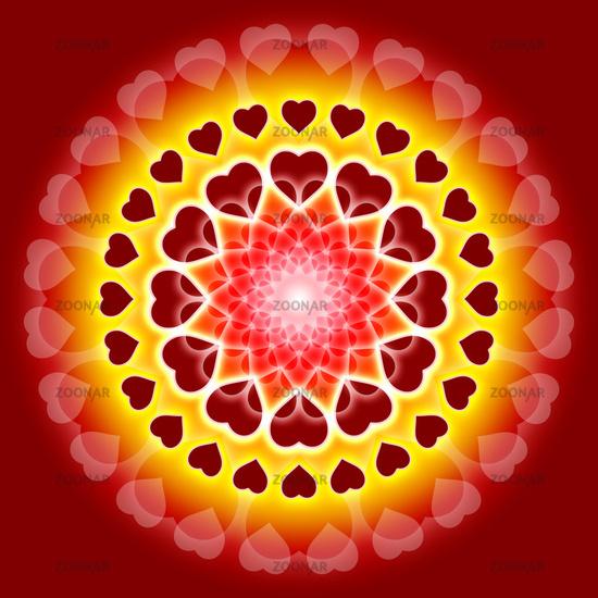 Foto Love Mandala 02 Bild 1898409
