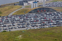 Carpark aerial view