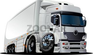 vector catroon truck