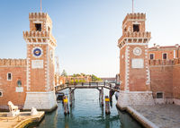 Venice Arsenale entrance
