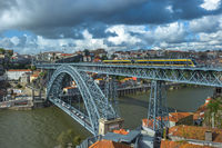 Luis I Bridge in Porto, Portugal