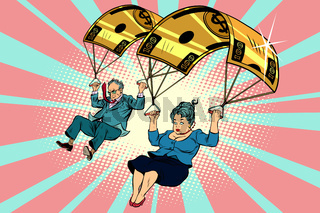 Golden parachute financial compensation in the business