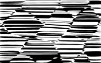 Abstract Lines Design Black and White Stripes Vector