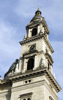 Bell tower at St. Stephen basilica