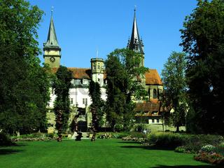 Schloss und Stiftskirche von Oehringen