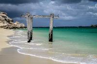 Stormy atmosphere at wonderful Hamlin Bay, Western Australia