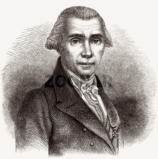 Louis Nicolas Vauquelin, 1763-1829, a French pharmacist and chemist