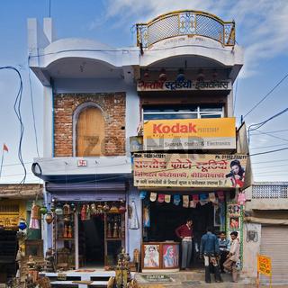 Geschäfte, Nordindien, Indien, Asien - stores, North India, India, Asia