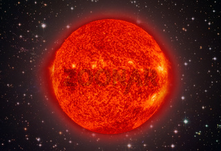 Solar System - Sun. It is the star at the center of the Solar System.