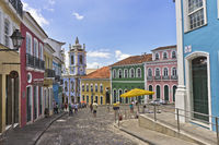 Salvador de Bahia, Street view, Brazil, South America