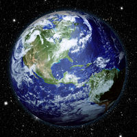 Planet Earth view