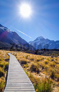 Hooker Valley Track, Aoraki Mount Cook, New Zealand