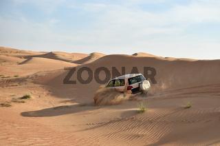 Wuestenfahrt in Dubai