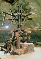 salt mine extraction machinery