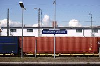 Bahnsteig Rüsselsheim Opelwerk