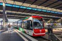 Zug der Chemnitz Bahn in Chemnitz