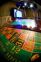 The dynamic roulette in casino