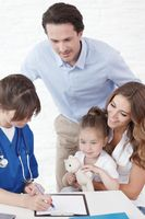 Pediatrician and family