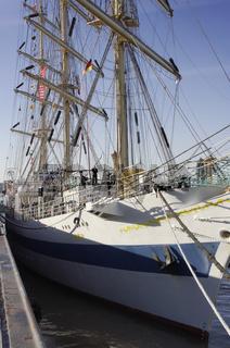 Das russische Segelschiff Mir