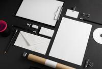 Photo of blank stationery