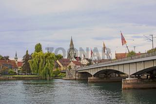 An der Rheinbrücke Konstanz