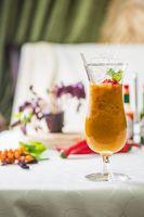 Sea buckthorn smoothie