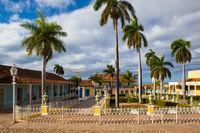 Plaza Mayor -Principal square of Trinidad,Cuba