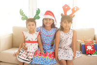 Indian children and Christmas gifts