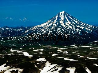 Vilyuchinsky volcano, Kamchatka peninsula, Russia